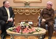 جزییات مهم مذاکرات پمپئو با بارزانی در شمال عراق
