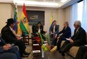 دیدار وزیر دفاع و رئیس جمهور بولیوی در ونزوئلا/ عکس
