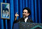امام جمعه تهران به آمریکاییها: در حسرت تماس تلفنی ایران و مذاکره بمانید