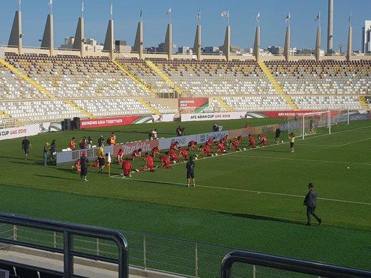 نکتهای جالب از تمرینات حریف دوم ایران در جام ملتها