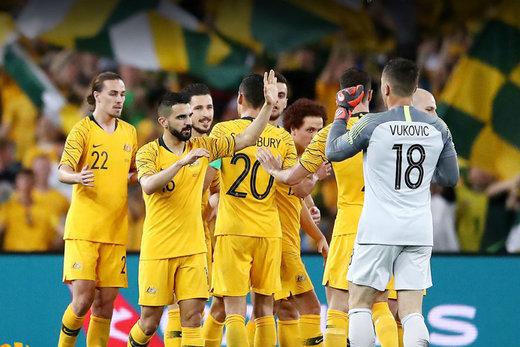 پیروزی سخت استرالیا مقابل سوریه/ اردن به عنوان صدرنشین صعود کرد