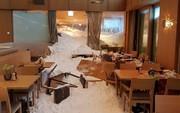 فیلم | بلایی که سقوط بهمن سر هتل سوئیسی آورد!