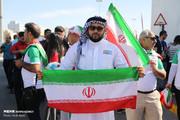 حواشی دیدار ایران و عراق؛ هواداران ایرانی در آلمکتوم
