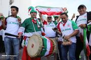 ورزشگاه آلمکتوم در تسخیر ایرانیها/ سهم عراق تنها ۱۷ درصد سکوها!