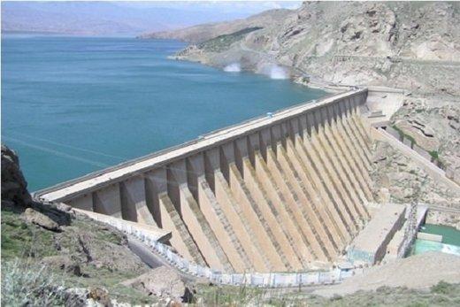 افزایش ۲۱ درصدی ذخیره آب پشت سد سفیدرود