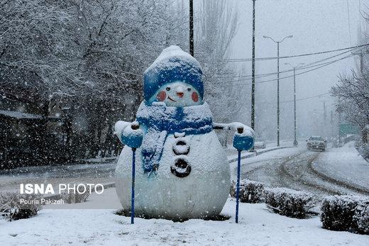 دوشنبهشب منتظر برف باشید/ جزییات سرد شدن هوا تا ۱۰ درجه