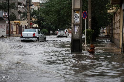 خوزستان این هفته بارانی است/ هشدار نسبت به بالا آمدن آب رودخانهها