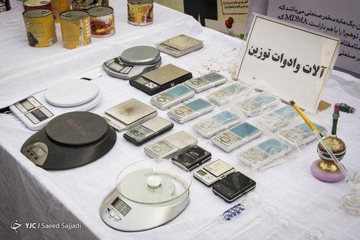 دستگیری ۳۰۵۴ نفر قاچاقچی مواد مخدر در تهران
