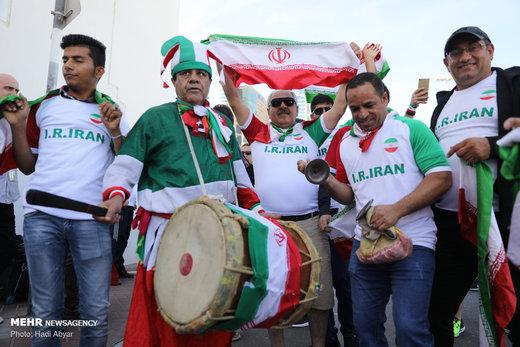 حاشیه دیدار تیم ملی فوتبال ایران با تیم ملی فوتبال ویتنام