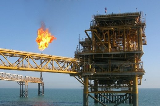 Gas extraction from offshore platforms of South Pars 22 - 24 phases begins