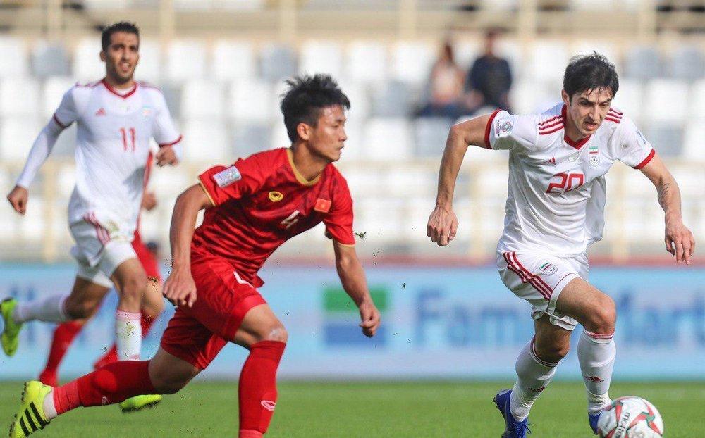 پیروزی تیم ملی مقابل ویتنام با دبل سردار