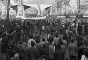 تصاویر   ۲۳ دی ۱۳۵۷، بازگشایی دانشگاه تهران