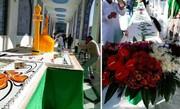 عکس   توزیع کیک ۷۲ متری در حرم حضرت زینب(س)