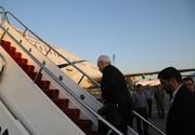 ظریف تهران را به مقصد بغداد ترک کرد
