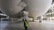 بزرگترین کشتی هوایی جهان را ببینید