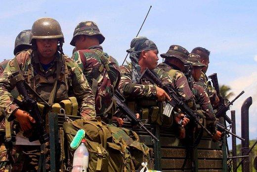 تشدید جنگ داخلی در فیلیپین