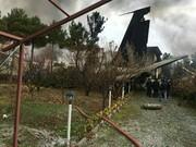هواپیمای سقوط کرده متعلق به ارتش است