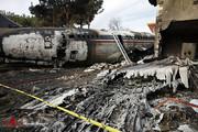 تصاویر دقیق از محل سانحه هواپیمای ارتش در کرج