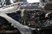 فیلم | هواپیمای ارتش چطور دچار سانحه شد؟