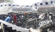 تصاویر | گوشتهایی که از هواپیمای سانحهدیده بیرون آورده شدند
