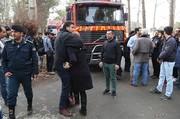 تصاویر | حضور خانوادههای قربانیان در محل سانحه هواپیمای بوئینگ