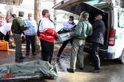 حضور خانواده قربانیان در محل حادثه سقوط هواپیمای ارتش/ عکس