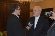 ظريف يشرح تفاصيل زيارة روحاني المرتقبة الي العراق