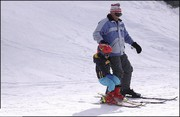 بعد از ۳سال، پیستهای اسکی چهارمحالوبختیاری رونق گرفت