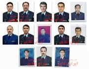 شهدای ارتش در سانحه هواپیمای بوئینگ ۷۰۷ /تصاویر