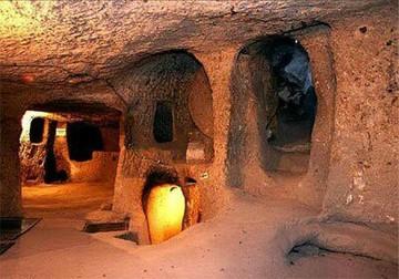 شهر زیرزمینی سامن با بیش از ۲۰۰۰ سال قدمت، قبل از سلسله اشکانیان ایجاد شده است