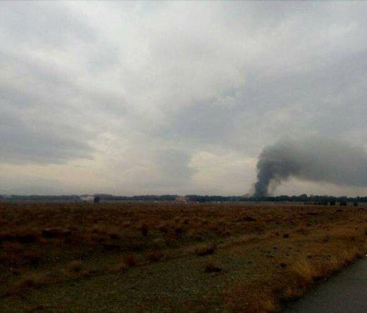 ۱۵سرنشین هواپیما جان باختند/تنها مهندس پرواز نجات یافت