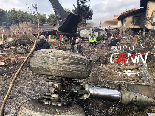 سقوط هواپیمای باری قرقیزستانی در کرج