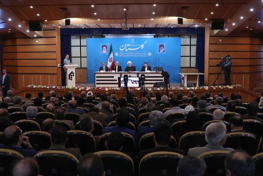 روحانی: امروز روز رقابتهای جناحی نیست، روز اتحاد است