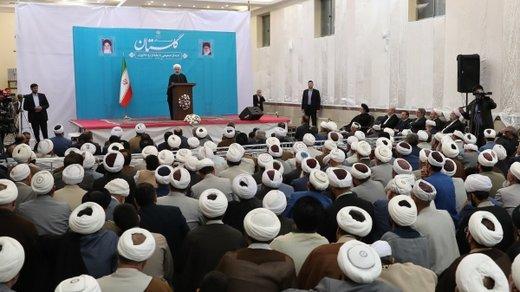 روحانی: در ۲۲ بهمن ملت بزرگ و قدرشناس ایران پاسخ آمریکا را میدهد
