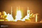فیلم و عکس | لحظه پرتاب ماهواره پیام امیرکبیر به فضا