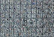 عکس | تصویر هوایی از منظمترین شهر ایران