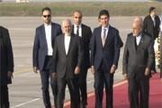 Iran's Zarif arrives in Iraqi Kurdistan Region for official visit