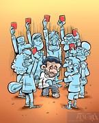 واکنش مردم به فوتبالیست بودن احمدینژاد!