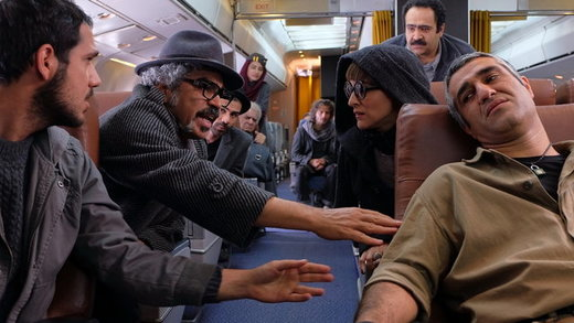 تازهترین تصاویر از مهران مدیری، رضا گلزار و هانیه توسلی در «ما همه باهم هستیم»/ زمان اکران مشخص شد