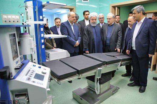 افتتاح مرکز تروما و اورژانس ۱۵۲ تختخوابی شهید نبوی گرگان