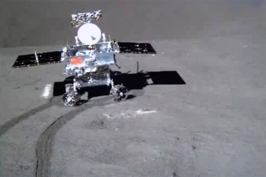 فیلم | ویدئوی ارسالی سطح نورد چینی از نیمه پنهان ماه