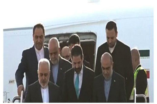 Iran's Zarif arrives in Sulaymaniyah