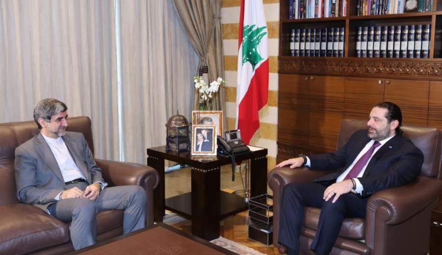 Iran ambassador, Lebanese PM discuss issues of bilateral importance