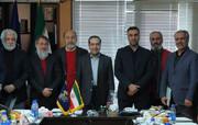 بازدید حسین انتظامی از ستاد جشنواره فیلم فجر