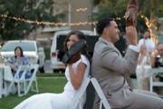 فیلم | بازی جالبی که برای عروس و داماد ترتیب دادند
