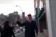 فیلم | واکنش مردم آمریکا به بدل ترامپ
