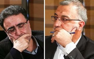 تاجزاده: از آقای جنتی به دادگاه شکایت کردم/ زاکانی: شما سر مردم را کلاه میگذارید