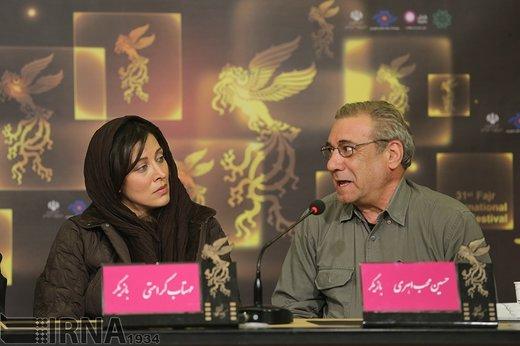 حسین محب اهری در مراسم سی و یکمین جشنواره بین المللی فیلم فجر ، سال 1391 حضور دارد