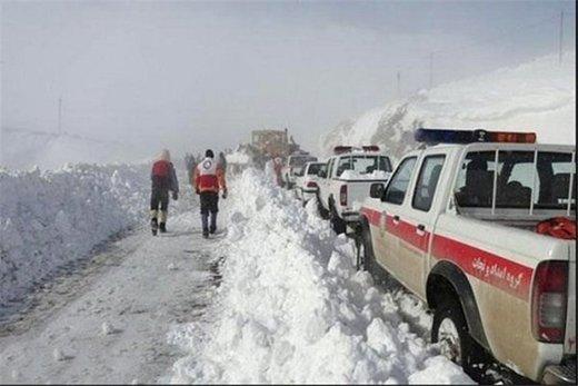 نجات کوهنوردان از مرگ حتمی در کولاک
