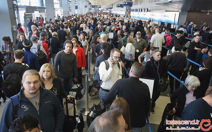 اپلیکیشنی که طول صفهای فرودگاه را نمایش میدهد